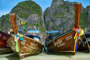 סירות בתאילנד